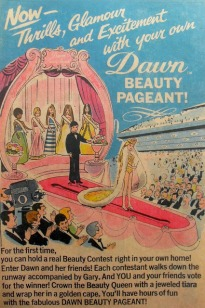 1969 DAWN BEAUTY PAGEANT DOLLS Vintage Comic Book Advertisement